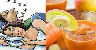 Remediul miraculos care scapa orice persoana de sforait! Se face imediat!