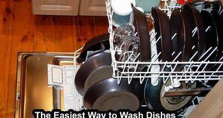 Truc genial pentru vase curate. Pune ingredientul asta ieftin in masina de spalat