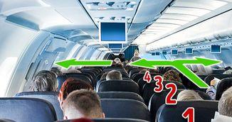De ce trebuie sa numeri randurile cand ajungi in avion! Este cea mai importanta masura de siguranta!