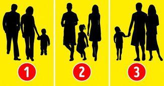 Test psihologic: Ghiceste in care dintre imagini nu se afla o familie