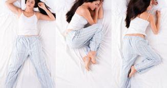 Cum iti afecteaza sanatatea 3 dintre cele mai comune pozitii de dormit