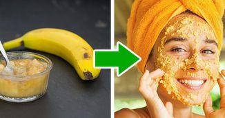 Si-a facut o masca din banane si a intinerit cu zece ani. Vei incerca si tu imediat
