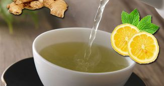 Cum se prepara ceaiul verde cu ghimbir. Slabesti rapid si fara efort