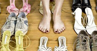 Cum sa scapi de mirosul neplacul al pantofilor