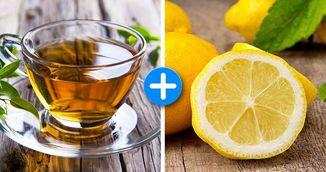Combinatia perfecta pentru silueta: ceai verde cu lamaie! Cum te ajuta sa slabesti!