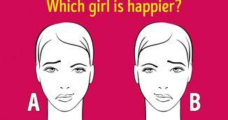 Test rapid de personalitate: Care fata este mai fericita?