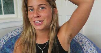 Femeia asta nu a mai folosit deodorant timp de un an! Uite ce s-a intamplat in corpul ei!