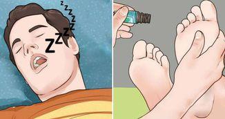 A amestecat trei ingrediente simple si si-a masat picioarele cu ele inaintede somn - Vei incerca asa ceva imediat