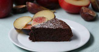 Prajitura cu ciocolata din doua ingrediente, fara faina, gata in 30 de minute