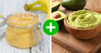 Masca din banane si avocado pentru picioare catifelate. Se prepara rapid