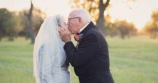 S-au imbracat in hainele de la nunta la 70 de ani de la casatorie! Motivul te va face sa plangi!