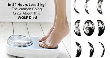 Slabesti 3 kilograme in 24 de ore cu dieta Lupului! Iata ce ai de facut!