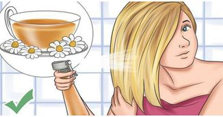 Foarte tare! Cum sa-ti colorezi parul cu ceai de musetel! Trucul asta face minuni!