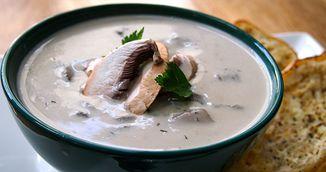 Supa cu ciuperci care iti ajuta corpul sa lupte cu infectiile. Reteta vegana