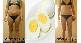 Tine dieta cu oua! Slabesti 3 kilograme in 3 zile!