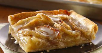 Prajitura rapida cu mere. Reteta romaneasca de post