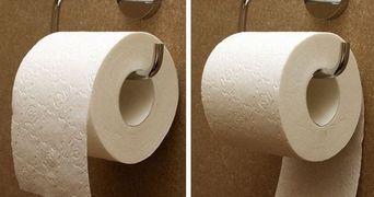 Cum pui hartia igienica in suport? Uite ce spune acest lucru despre personalitatea ta!