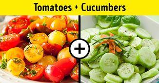 De ce sa nu mai combini niciodata rosiile si castravetii in salata. Iti fac mai rau decat ti-ai fi imaginat