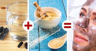 Cum sa-ti faci celebra masca neagra la tine acasa! Ai nevoie de doar doua ingrediente!