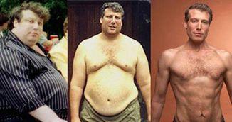 Barbatul asta a slabit 110 kilograme fara sa tina dieta. Ce schimbari a facut in viata