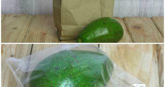 Asa se depoziteaza corect un avocado. Sigur nu stiai asta
