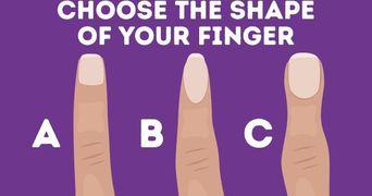 Foarte tare! Ce spune forma degetului tau despre personalitatea ta!