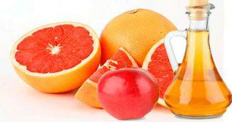 A amestecat suc de grapefruit si cidru din otet de mere! Vei incerca imediat aceasta reteta!