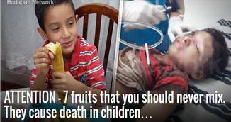 Combinatia aceasta de fructe iti poate ucide copilul. Sigur nu stiai