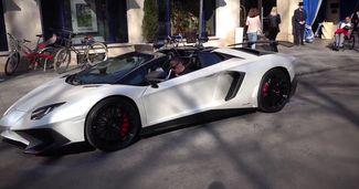 Franck Ribery, la plimbare cu un Lamborghini Aventador