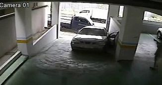 VIDEO / O soferita de groaza: a facut trei accidente de masina in trei minute